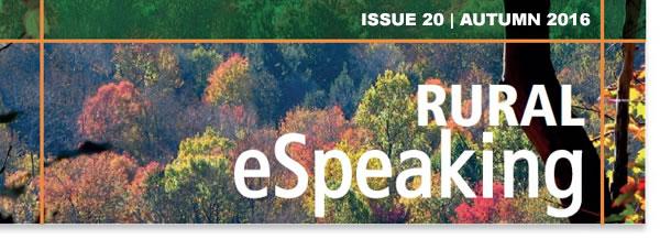 Rural ESpeaking Issue 20 Autumn 2016 Gawith Burridge