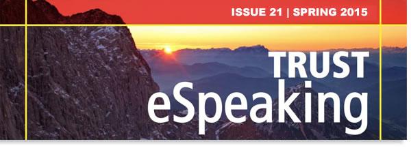 Trust ESpeaking Issue 21 Spring 2015 Gawith Burridge